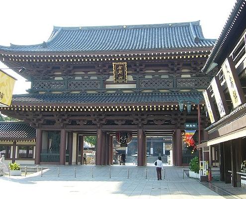 川崎大師の入口