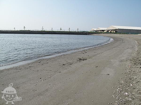 人工海浜(川崎の浜)
