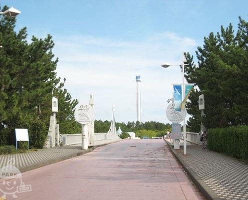 八景島へ渡る橋