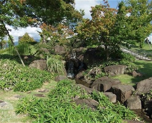 金沢の三段滝
