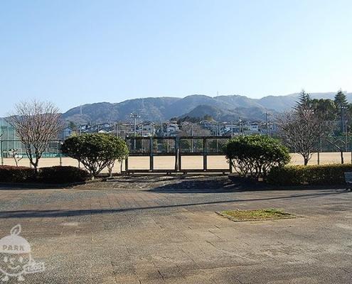 イベント広場と野球場