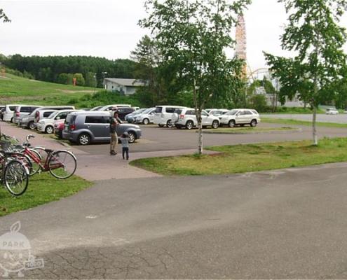トリムコース側駐車場