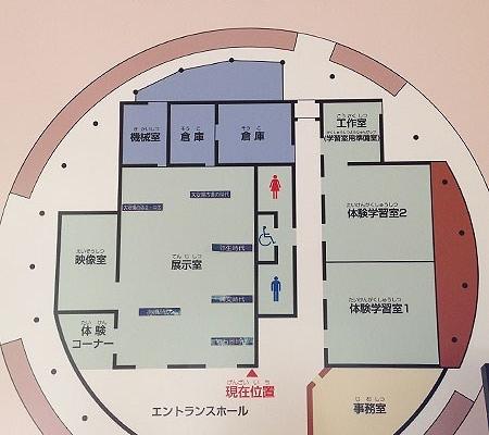 ガイダンス施設案内図