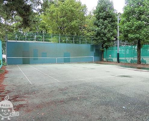 テニス壁打ち