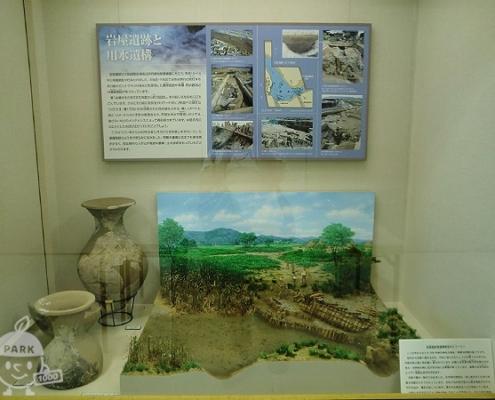 遺跡や歴史の展示