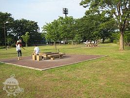 野外炉(バーベキュー場)