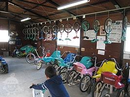自転車貸出所