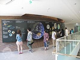 2階の展示物のコーナー