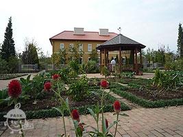花菜ガルテンにあるキッチン菜園