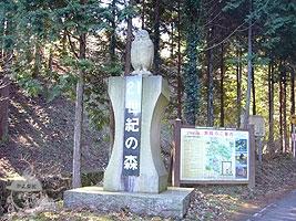 県立21世紀の森入口