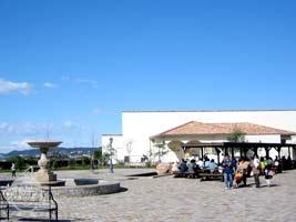 海と夕日の広場と温浴施設「海と夕日の湯」