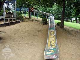忍者トリデの滑り台