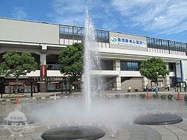 葛西臨海公園駅前の様子