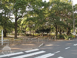 A地区公園入口
