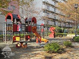 季節の広場にある遊具
