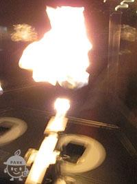炎のシャボン玉