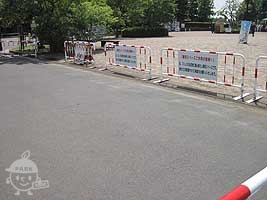 サービスセンター前駐車場