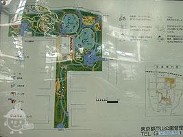大久保地区の案内図