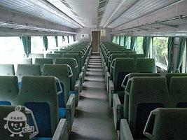 0系新幹線の客席部分