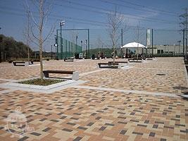 ラグビー&サッカー場横の広場
