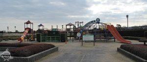 ファミリーゾーン内の遊園地部分
