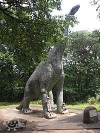 恐竜コーナー