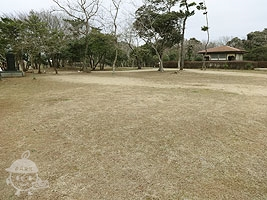 グランドゴルフができる広場