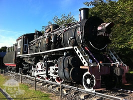 蒸気機関車PL2号(プレニ号)