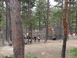 林間アスレチック広場