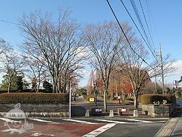 東側の公園入口