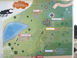 「冒険の丘」案内図