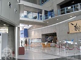 「展示資料館」入口