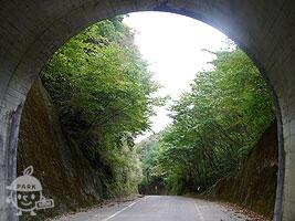 トンネルをくぐると…