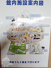 館内施設案内図