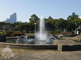 Aブロック「噴水広場」