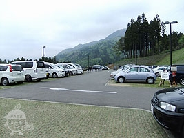西ゾーンの駐車場