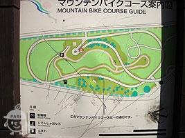 マウンテンバイクコース案内図