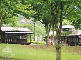 売店と軽食屋