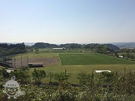 野球場とサッカー場