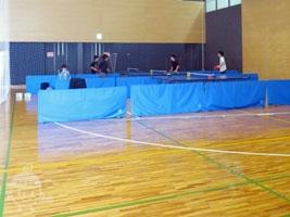 卓球スペースとサブスペース
