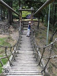 吊り橋わたり