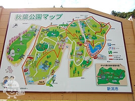 秋葉公園マップ