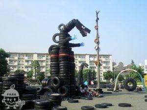 西六郷公園・通称 タイヤ公園