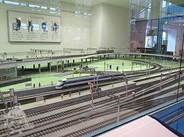模型電車の運転