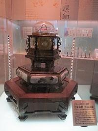 重要文化財の万年時計
