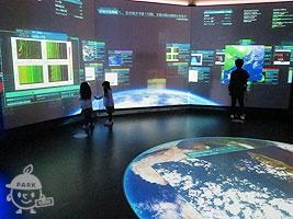 「科学技術で地球を探る」フロア