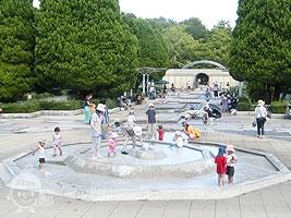 けやき広場(水景広場)