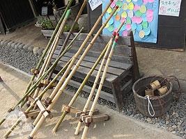 竹馬と竹ぽっくり