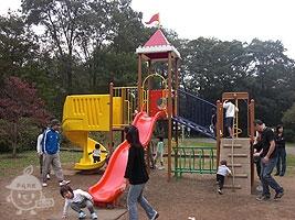 子供の森の遊具