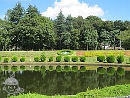 花時計・子供つり池